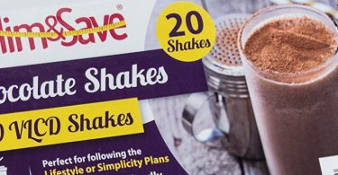 20 Chocolate VLCD Meal Replacement Diet Shakes by Slim and Save Review